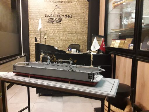 yüzer havuz, model, ship, gemi maket