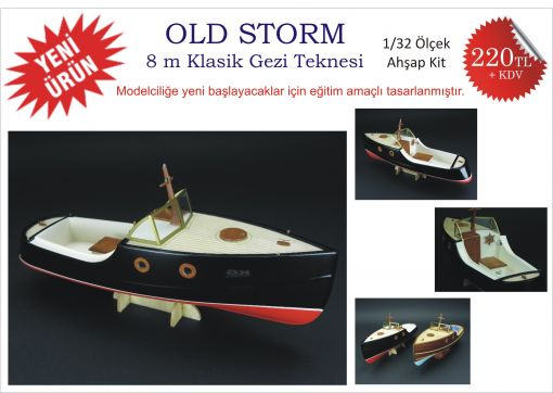 ahşap kit gezi teknesi wooden ship model